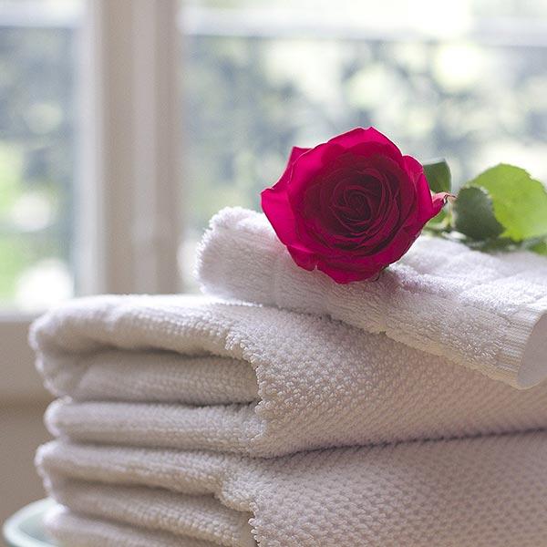 kein eigenes Handtuch